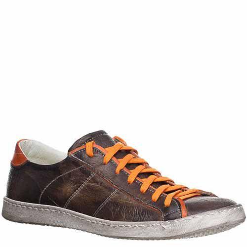 Кеды Bagatt кожаные коричневые со стильными потертостями, фото