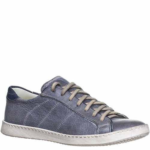 Кеды Bagatt кожаные темно-серые с легким синим оттенком, фото