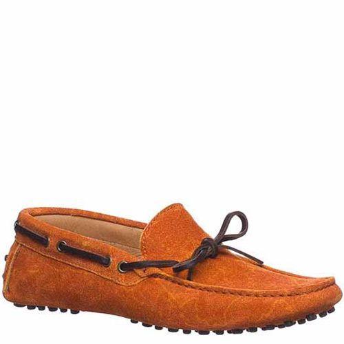 Мокасины Etro замшевые оранжевые, фото