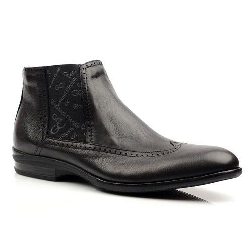 Мужские ботинки Giovanni Ciccioli черные, фото