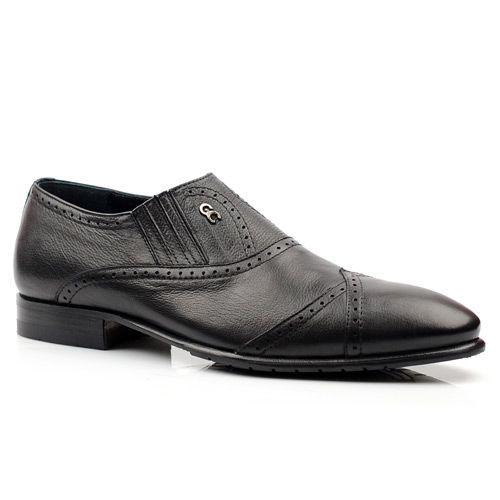 Мужские кожаные туфли Giovanni Ciccioli с перфорацией, фото