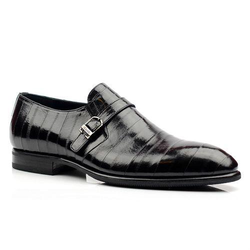 Мужские кожаные туфли Giovanni Ciccioli черные, фото