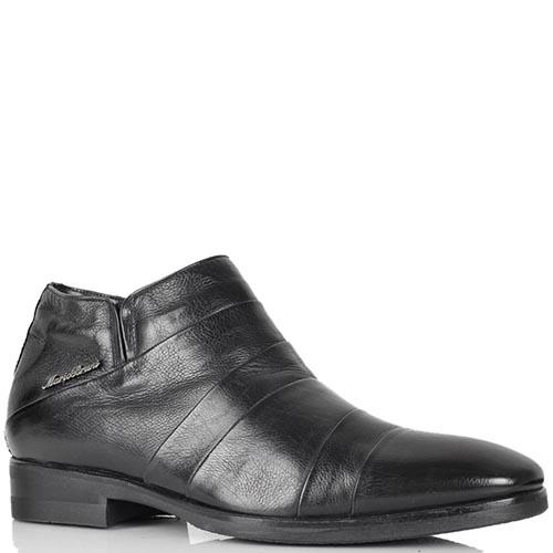 Зимние ботинки Mario Bruni черного цвета из натуральной кожи, фото