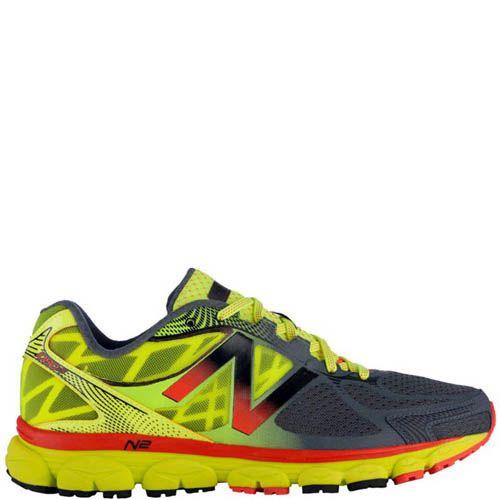 Кроссовки New Balance мужские для бега в желтом цвете, фото
