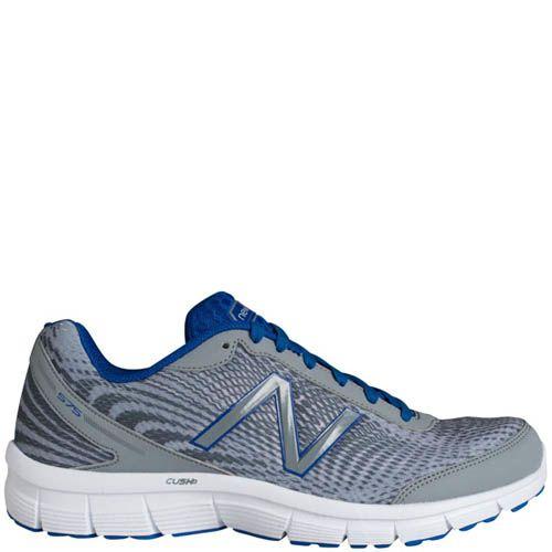 Кроссовки New Balance мужские Fitness Running серые с голубым, фото