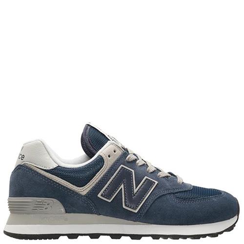 ☆ Кроссовки мужские замшевые New Balance 574 синего цвета ML574EGN ... d08ebfc9054d1