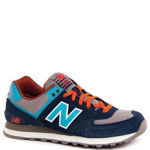 Кроссовки New Balance мужские модель 574 Out East в синем цвете, фото