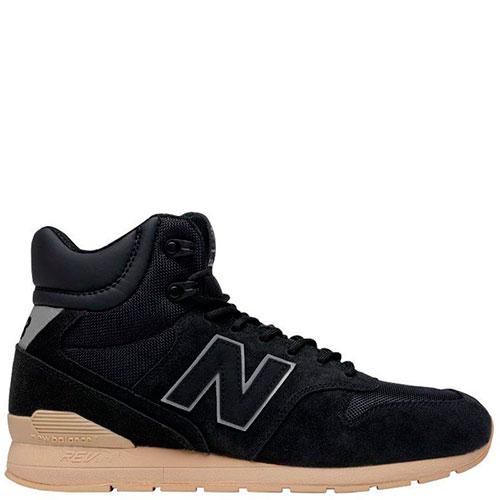 ☆ Высокие кроссовки New Balance 996 из черной замши MRH996BT купить ... 5c81abc1ebd