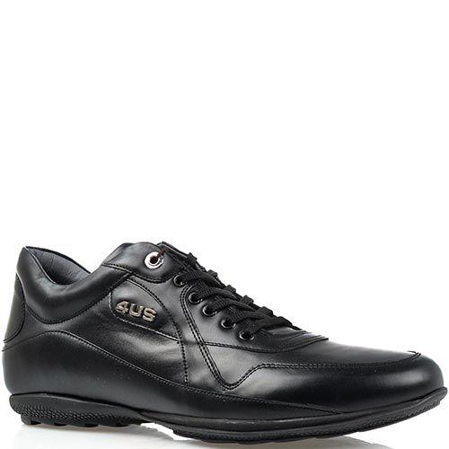 Кроссовки Cesare Paciotti 4US черного цвета, фото