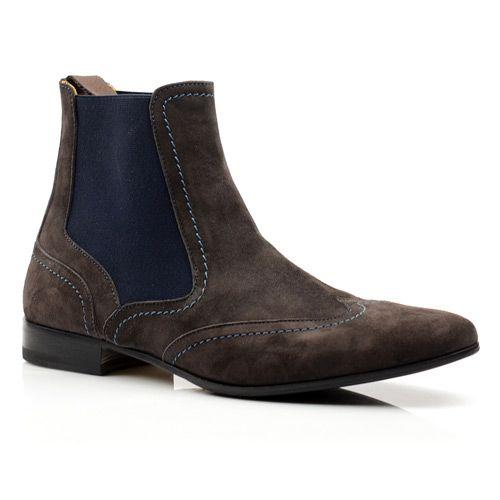Мужские замшевые ботинки Pollini, фото
