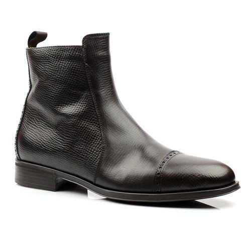 Мужские кожаные ботинки Pollini, фото