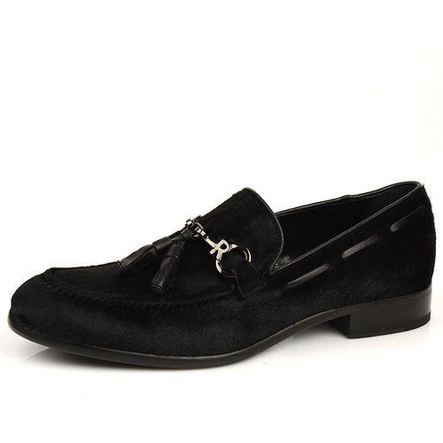 Мужские туфли из кожи пони Richmond, фото