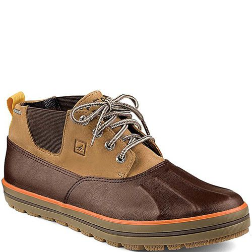 Ботинки Sperry Top-Sider Drake Chukka коричневые, фото