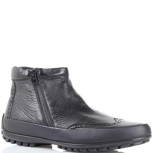 Зимние ботинки-броги Pakerson с перфорацией, фото