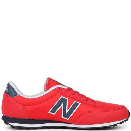 Кроссовки New Balance мужские модель 410 в красном цвете, фото
