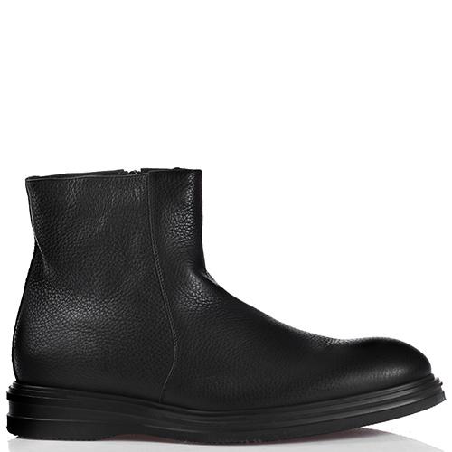 Черные ботинки Dino Bigioni на молнии, фото