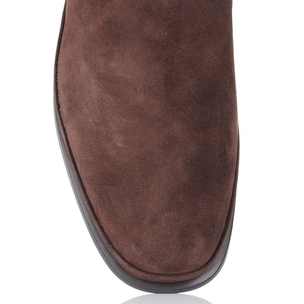 Мужские ботинки Samsonite из замши со вставкой-резинкой