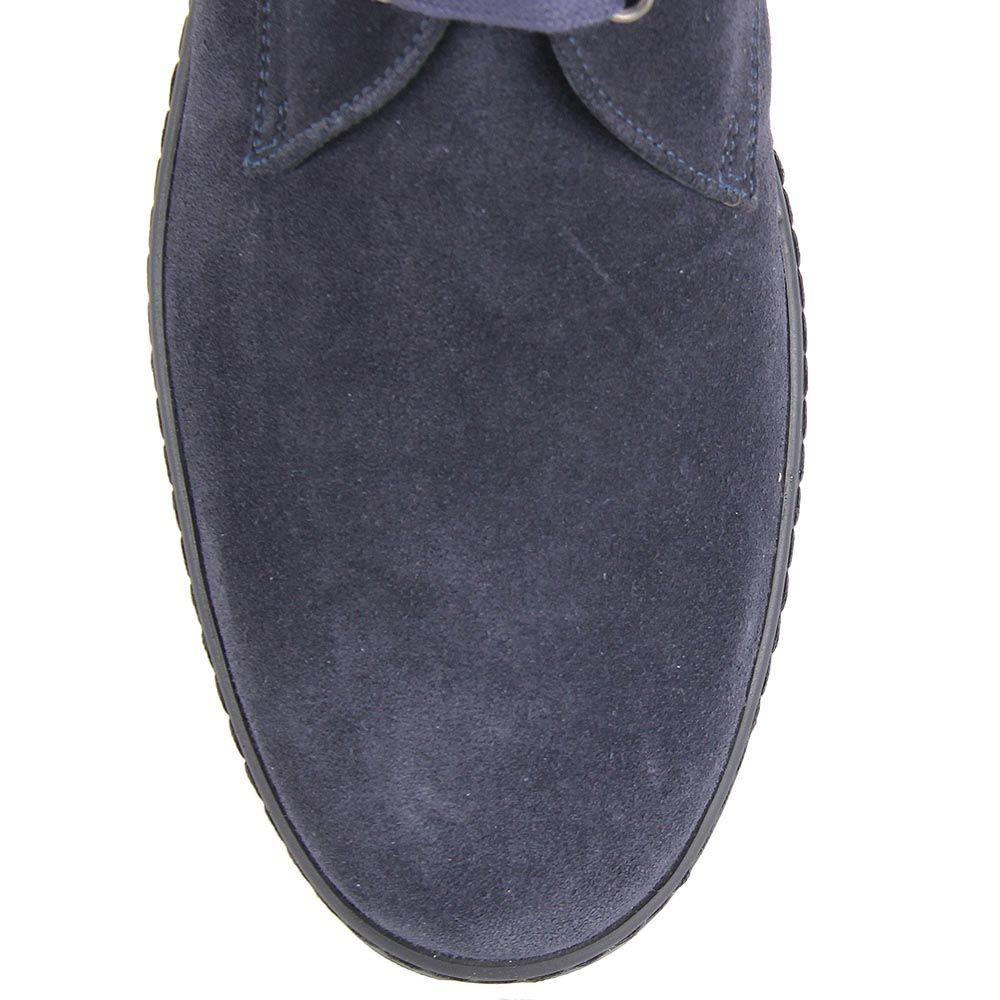 Мужские демисезонные ботинки Samsonite синего цвета на высокой подошве