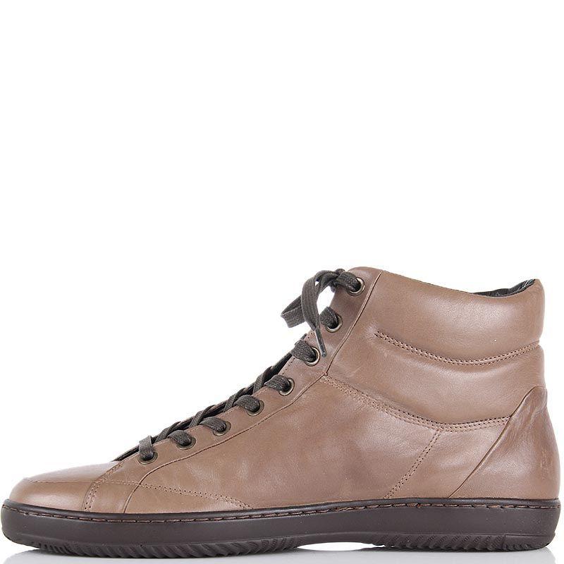 Ботинки Samsonite бежевого цвета на шнуровке