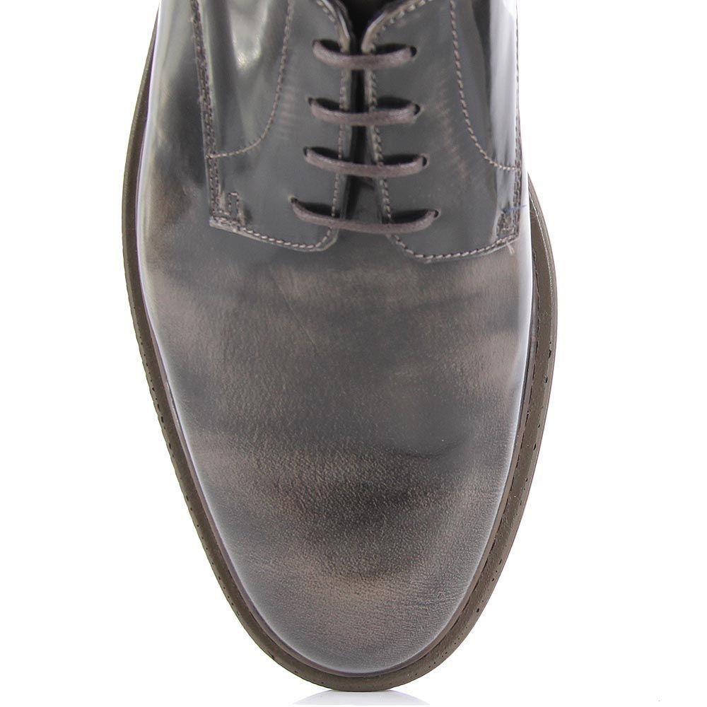 Мужские туфли-броги Samsonite коричневого цвета