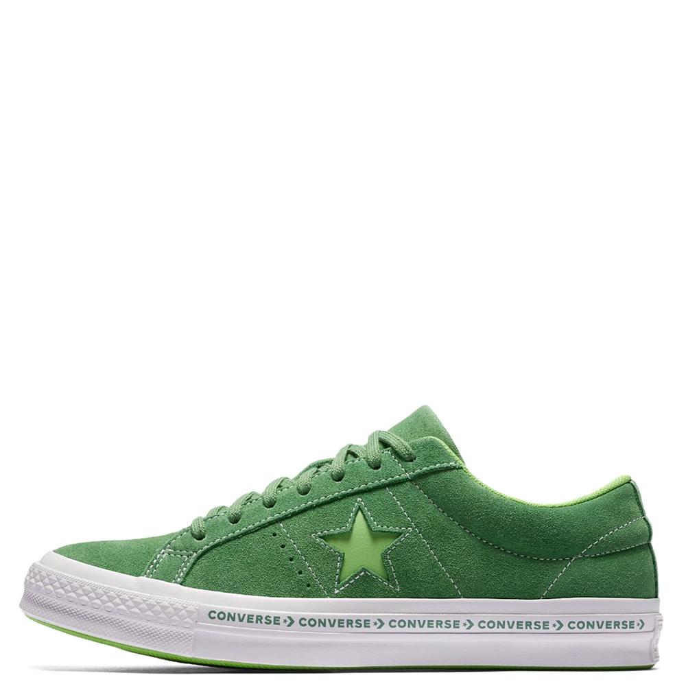 52b8e7935904 ☆ Мужские кеды Converse One Star OX зеленого цвета 159816C купить в ...