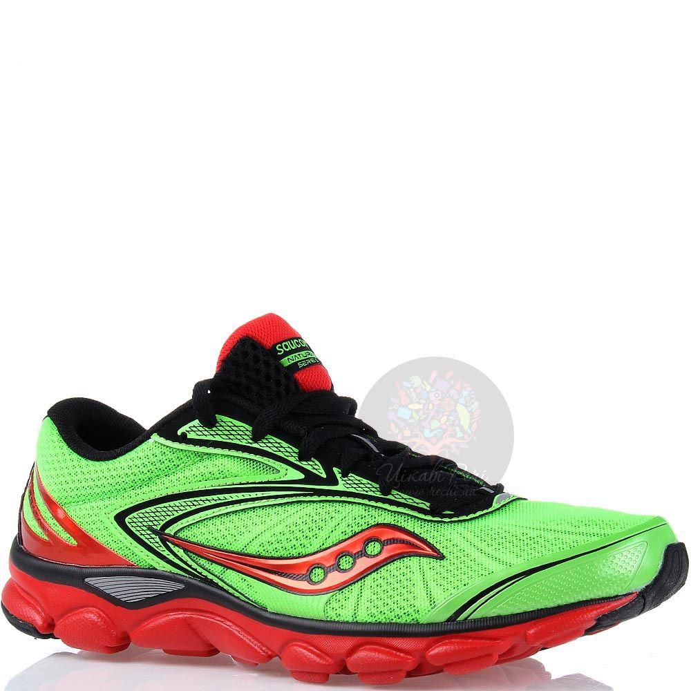 Беговые мужские кроссовки Saucony Virrata 2 красные с зеленым