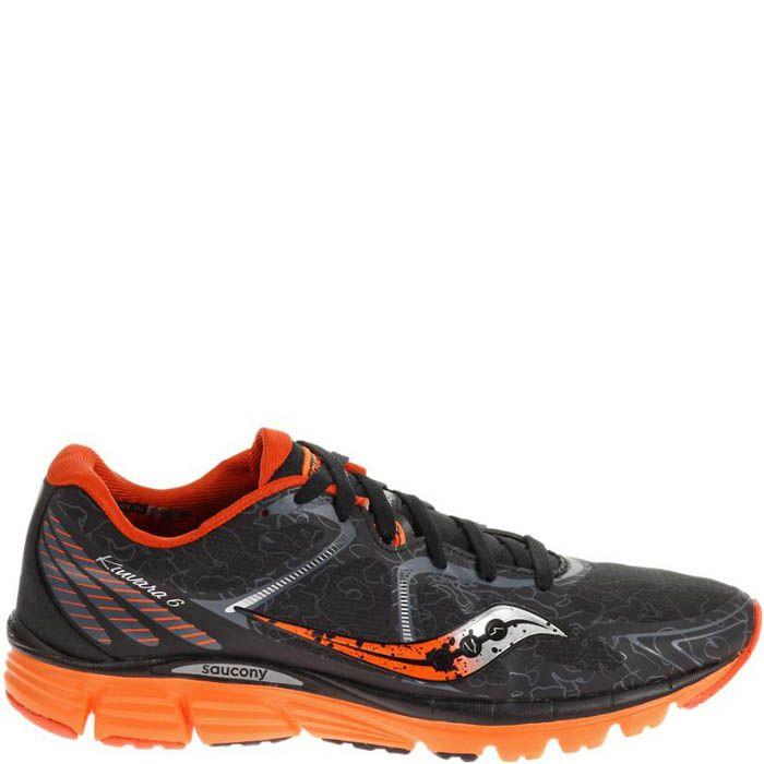 Кроссовки Saucony Kinvara 6 Runshield Black Orange мужские