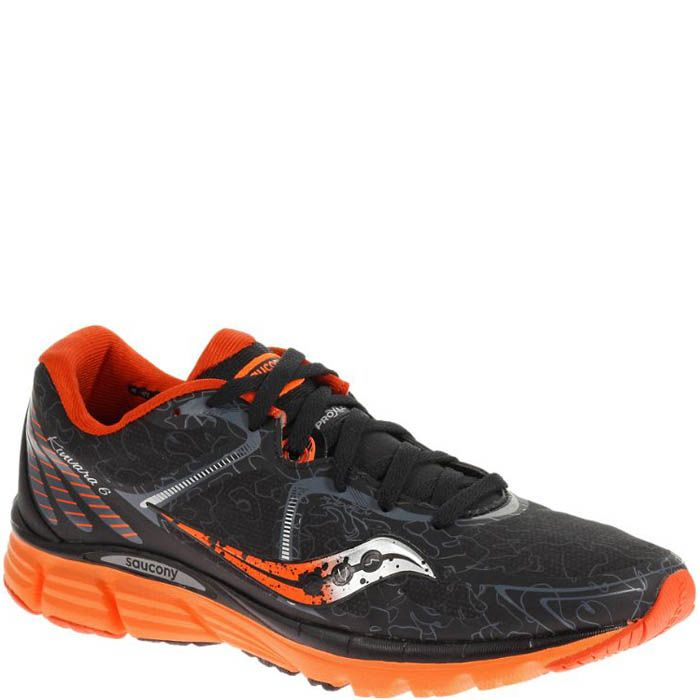 Кроссовки Saucony Kinvara 6 Runshield Black Orange мужские