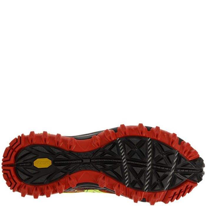 Кроссовки Saucony Xodus 6.0 Gtx Citron-Red-Black мужские