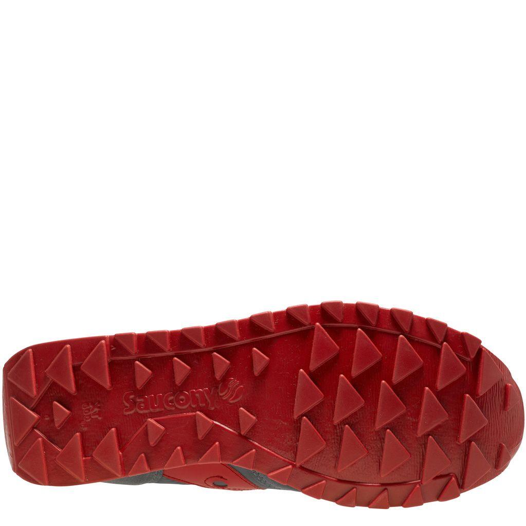Мужские кроссовки Saucony Jazz Original темно-серые с красным