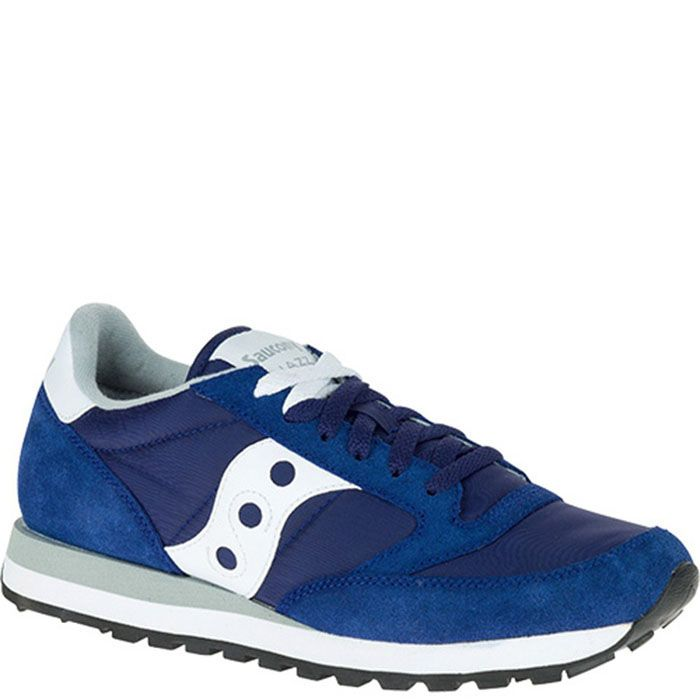 Кроссовки Saucony Jazz Original Blue синего цвета