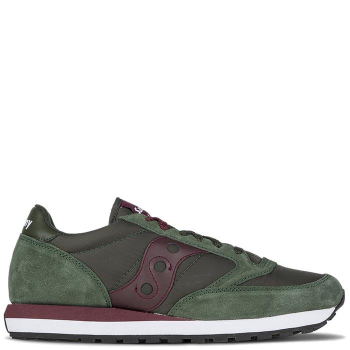 Кроссовки Saucony JAZZ ORIGINAL 2016'WA зеленые с коричневым