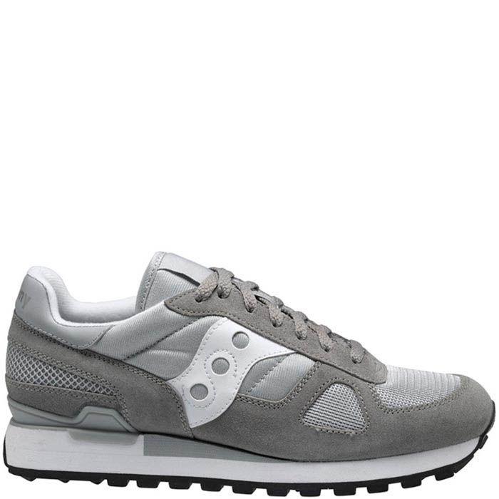 Мужские кроссовки Saucony Shadow Original светло-серые с белым