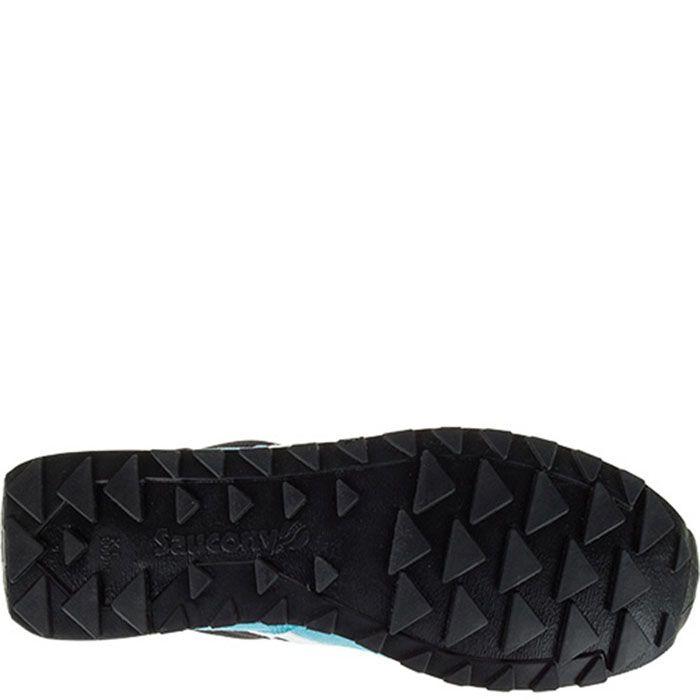 Кроссовки Saucony Shadow Original Black Light Blue в комбинации натуральной замши нейлона и сетчатой ткани