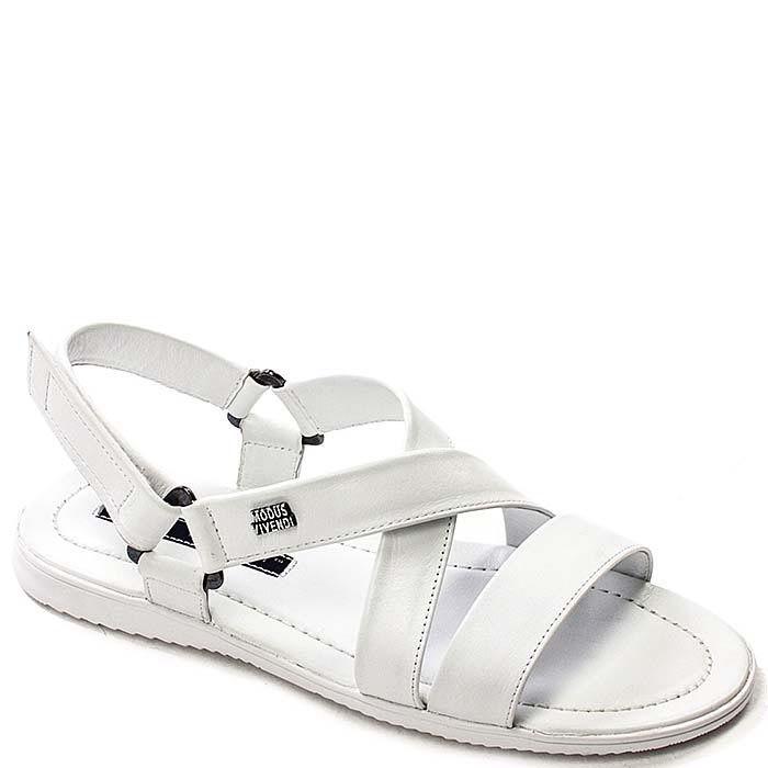 Мужские сандалии Modus Vivendi из кожи белого цвета