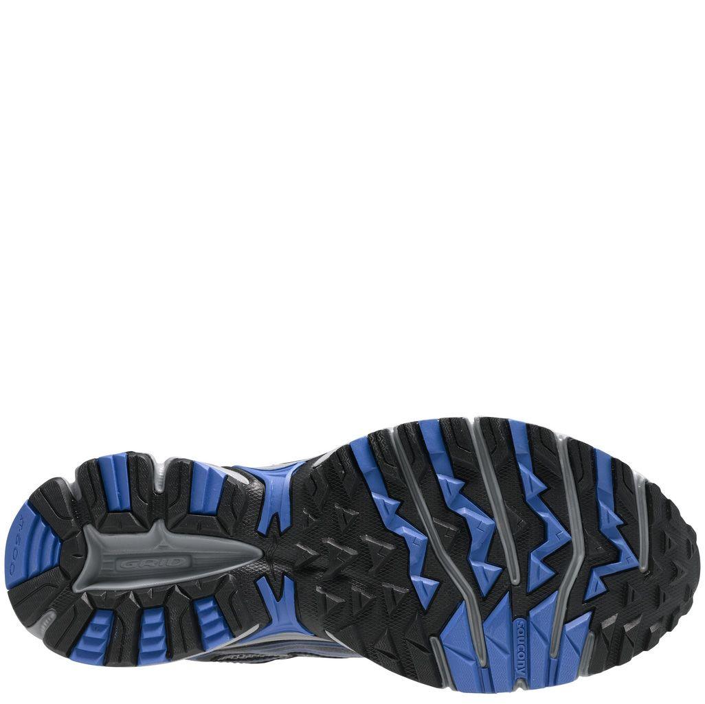 Мужские беговые кроссовки Saucony Cohesion TR7 черно-серые с синим