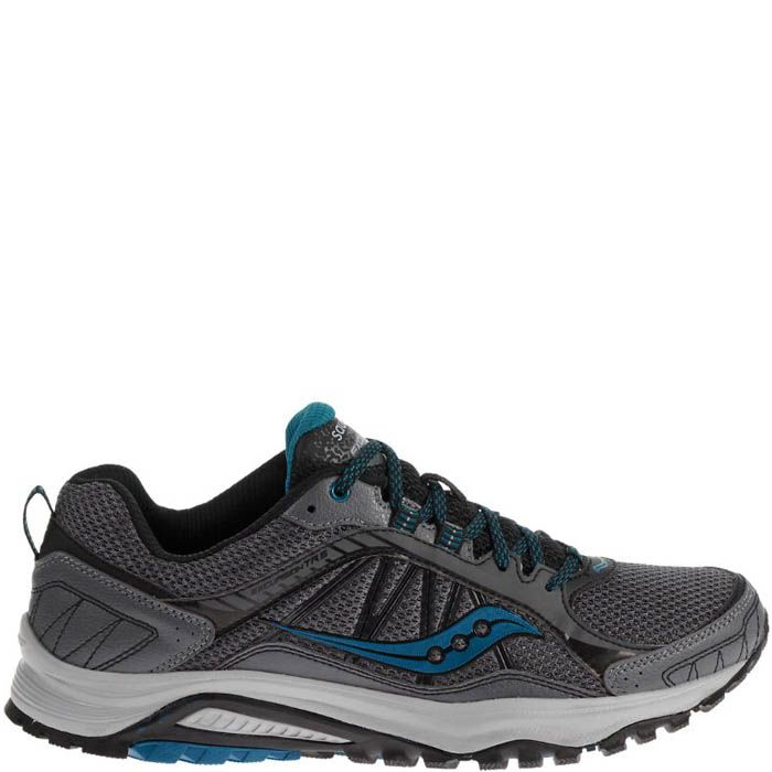 Кроссовки Saucony Grid Excursion Tr9 Grey Black Blue мужские