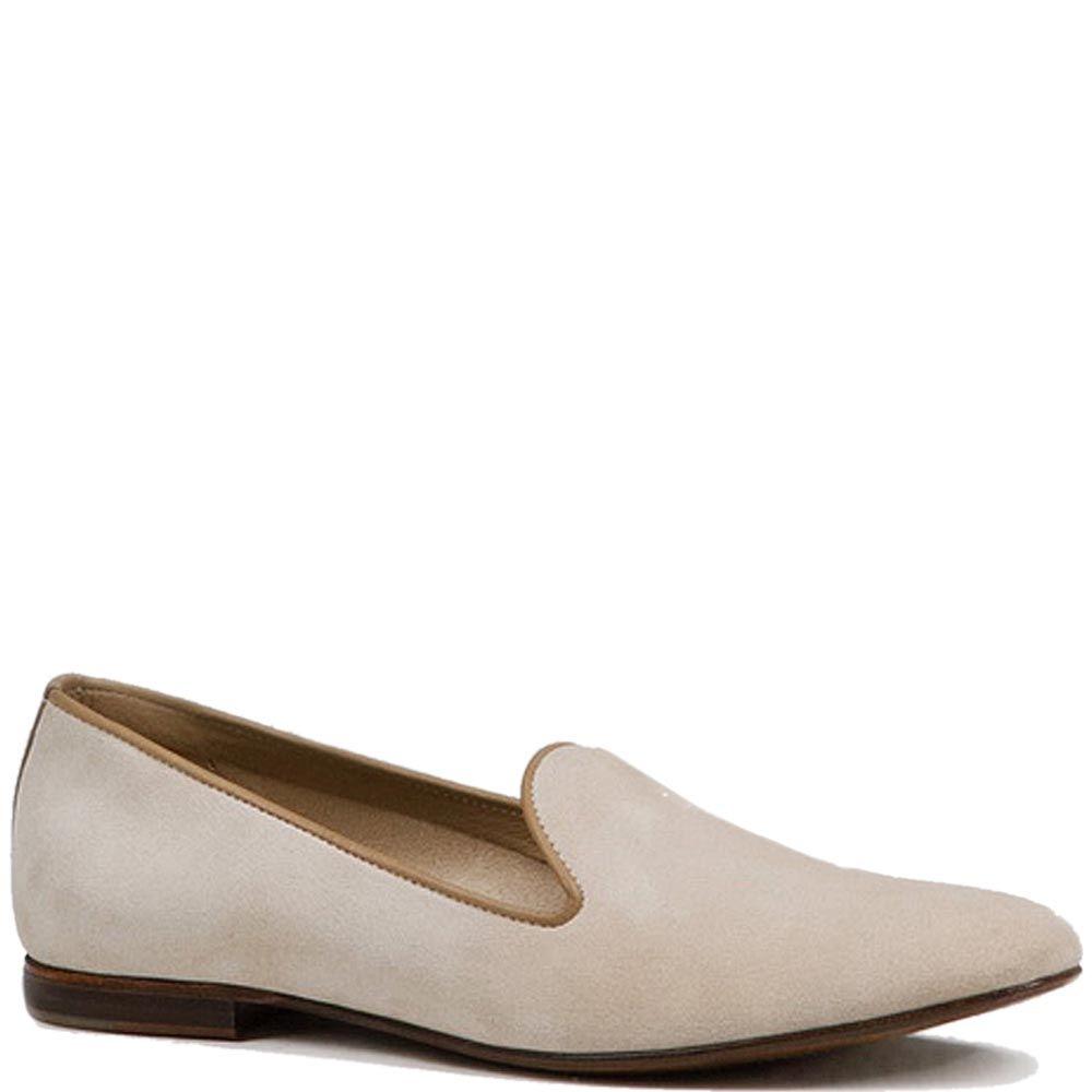 Мужские туфли Modus Vivendi из замши молочного цвета