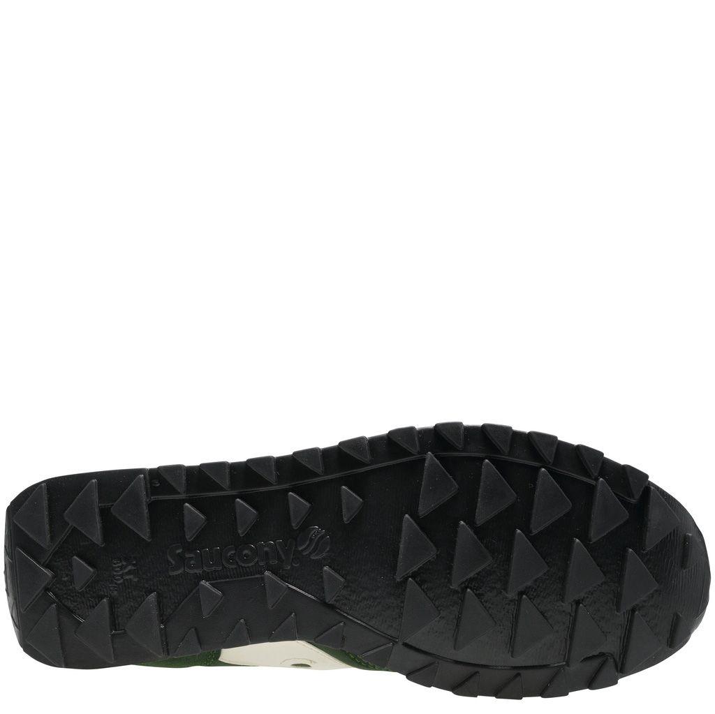 Мужские кроссовки Saucony Jazz Low Pro темно-зеленые с белым
