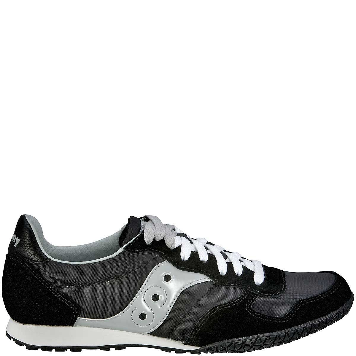 Мужские кроссовки Saucony Bullet черные с серебристо-серым