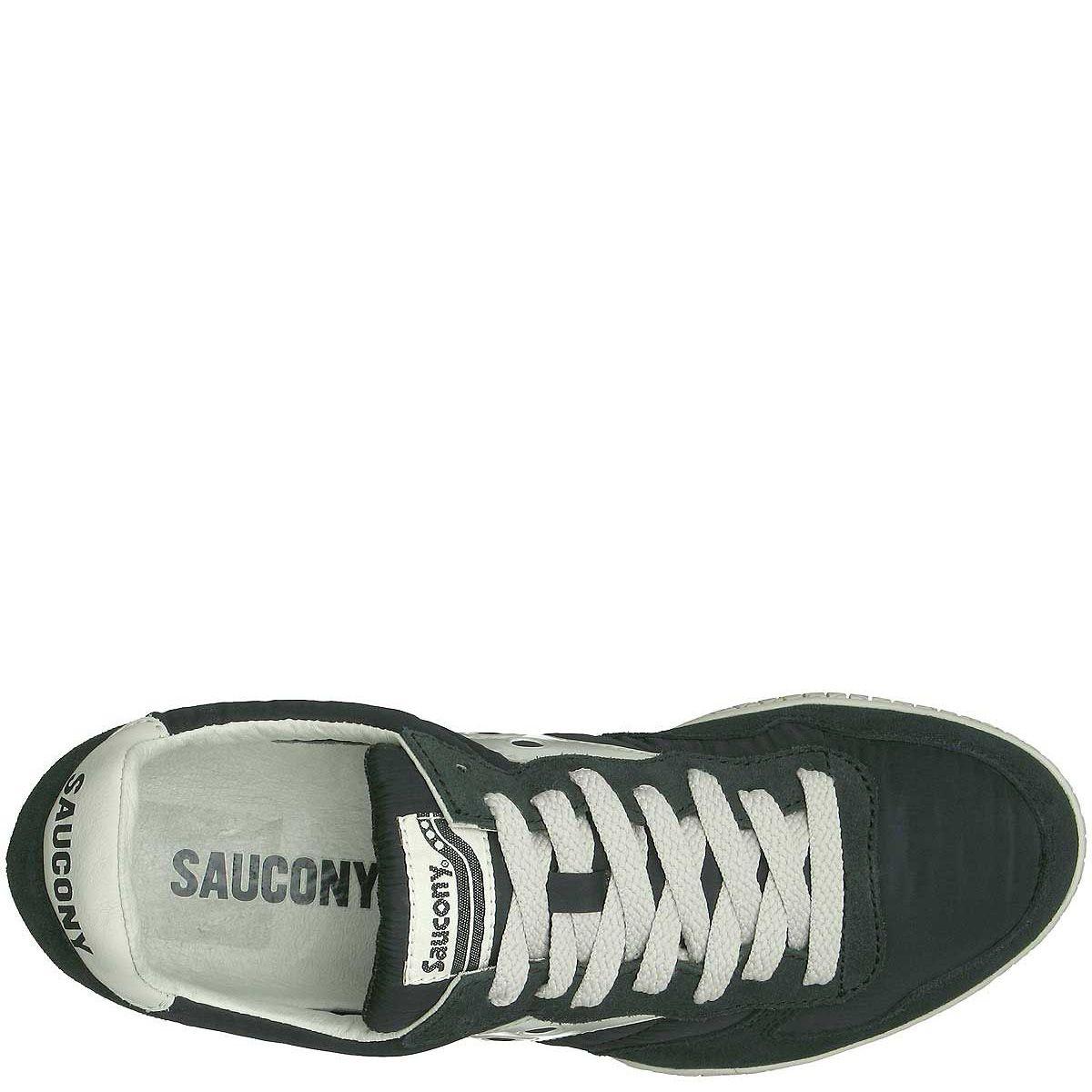 Мужские кроссовки Saucony Bullet темно-серые с зеленоватым оттенком