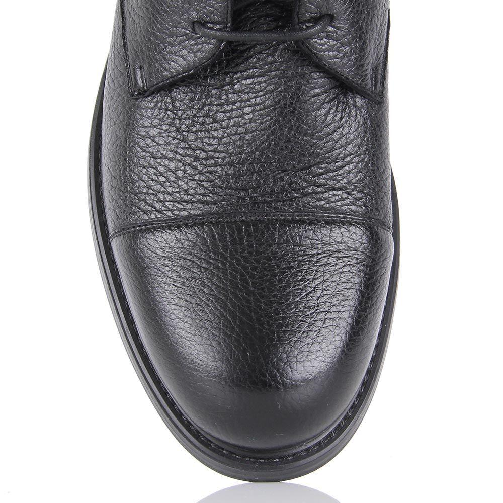 Зимние ботинки Pakerson черного цвета с накидной застежкой на пряжках