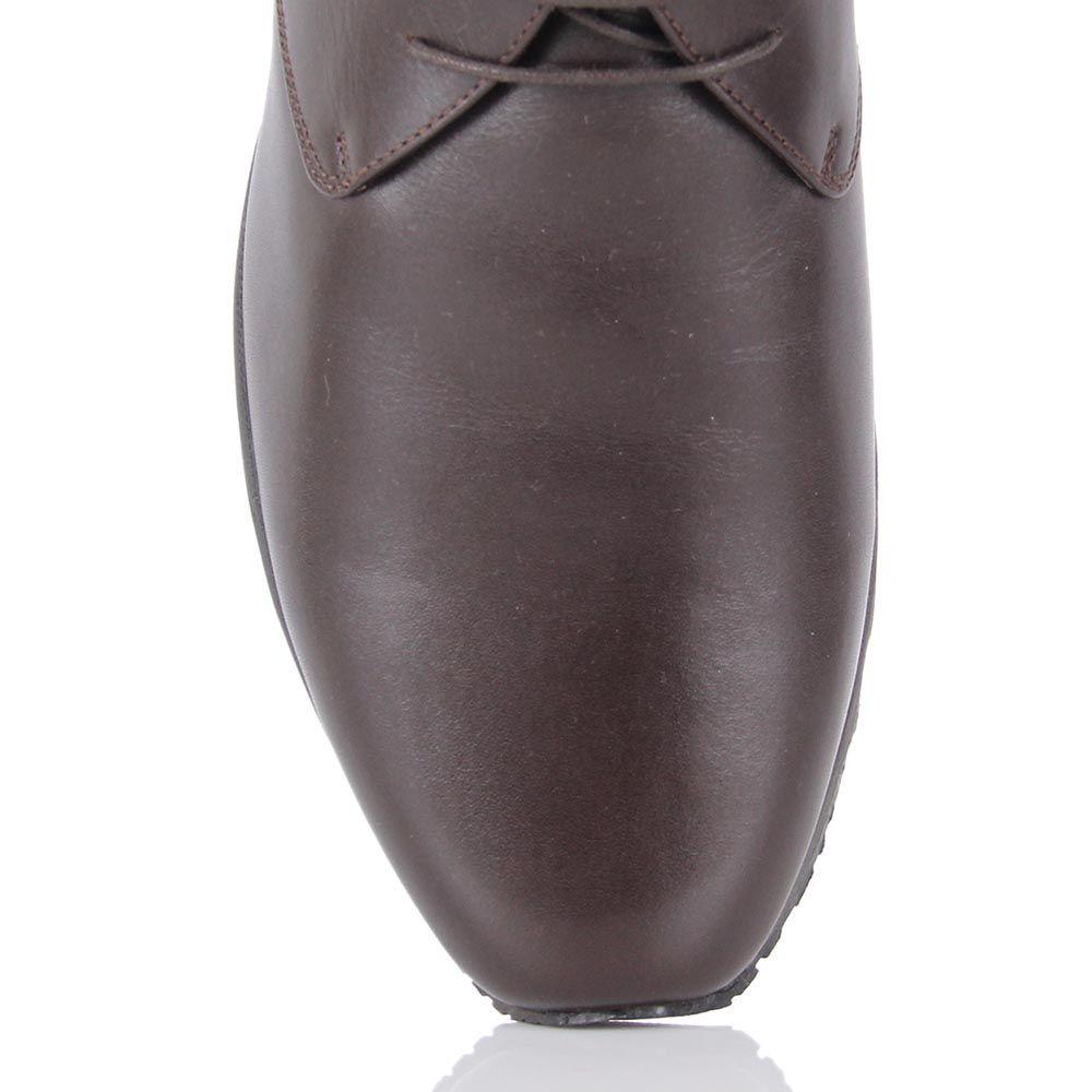 Ботинки Pakerson из натуральной кожи коричневого цвета