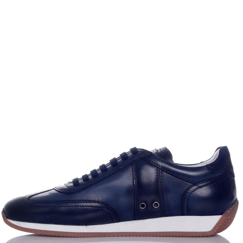 Кроссовки Roberto Serpentini темно-синего цвета
