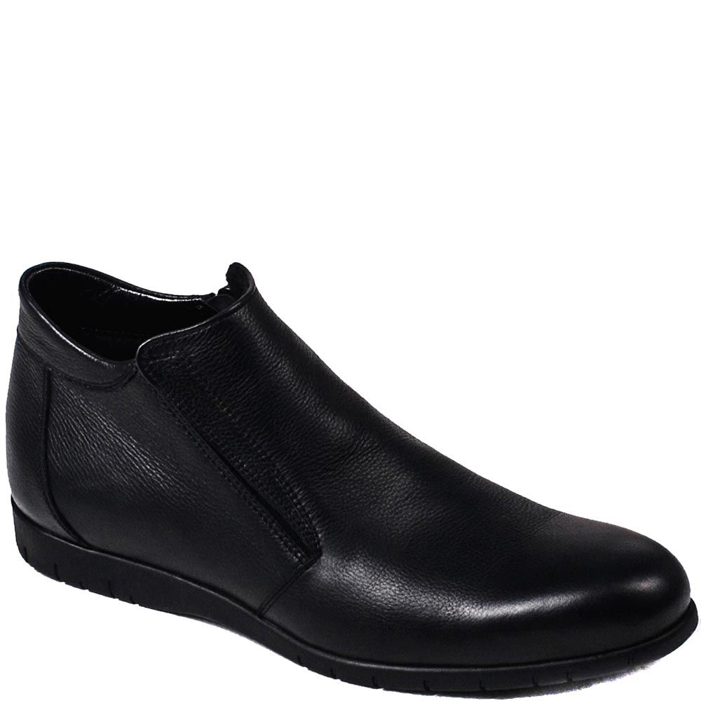 Мужские зимние ботинки Modus Vivendi из гладкой кожи черного цвета