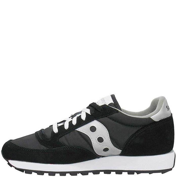 Мужские кроссовки Saucony Jazz Original с черно-белые с серым