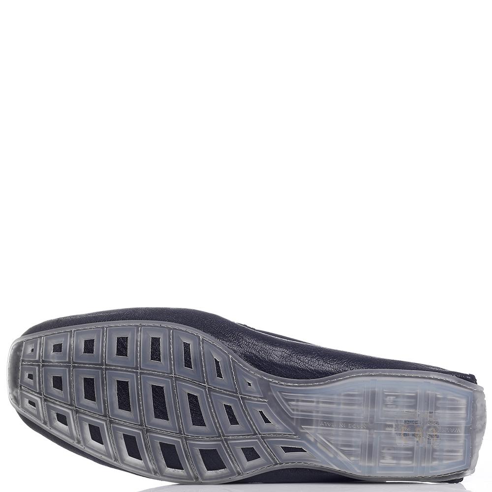 Мокасины Aldo Brue с декором на носке