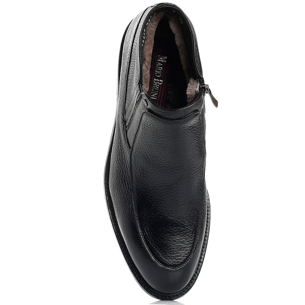 Черные ботинки Mario Bruni на меху
