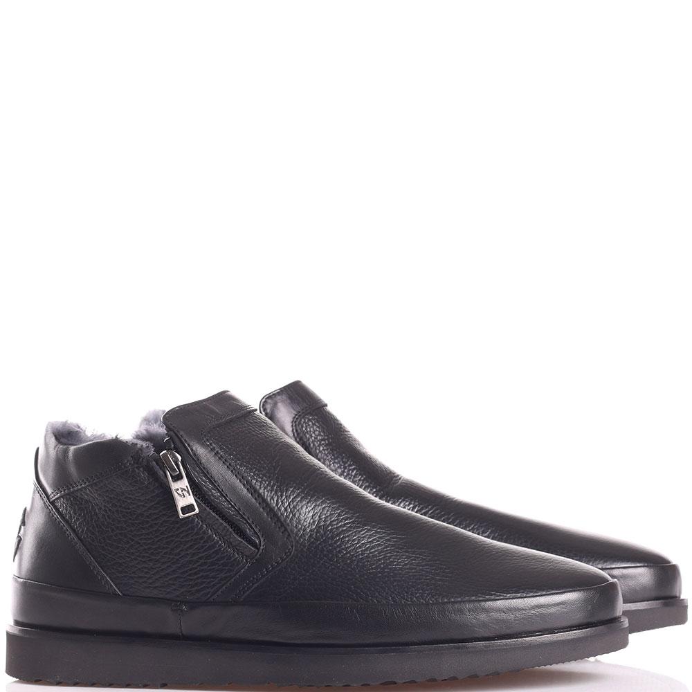 Зимние ботинки Giampiero Nicola на толстой подошве