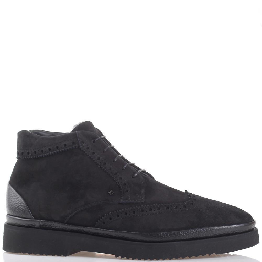 Черные ботинки Luca Guerrini на молнии
